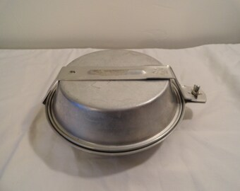 Vintage Girl Scout GSI Complete Aluminum Mess Kit