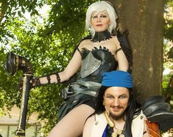 Cosplay Print - Genderbent Fenris and Isabela