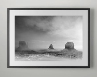 Monument Valley in the morning, Fine Art Photography, Home decor, Office Wall Art, Fine Art Photograph