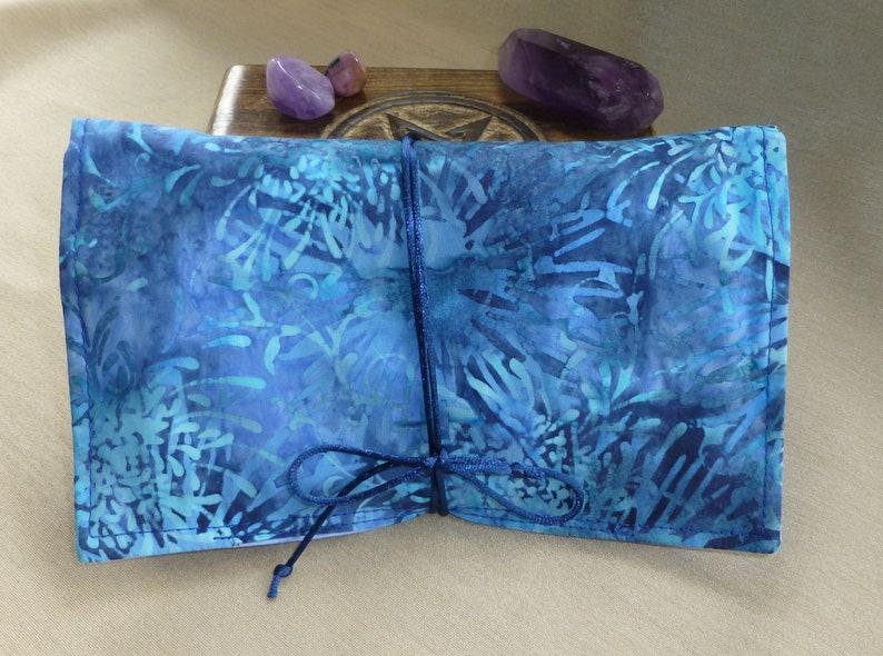 17854cc27d Fleur Tarot carte portefeuille sac de carte de Tarot ange | Etsy