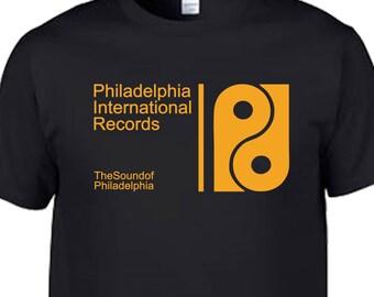 8afce3c7416 philadelphia international motown tamla stax records disco soul chicago  house dance music retro t shirt