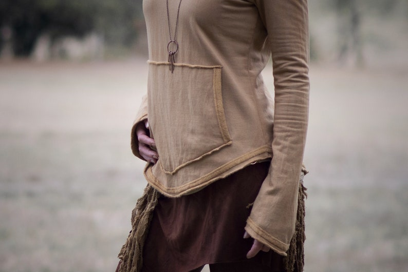 ANTARES RAW  organic hand dyed clothing  bamboo jumper  hand dyed pullover  sustainable fair trade alternative clothes