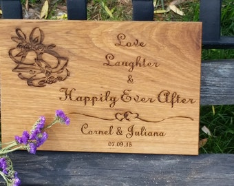 Master Bedroom Wall Art Decor, Engraved Plaque,  GIFT WRAPPED