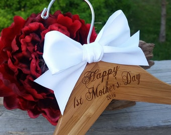 1st. Mother's Day Gift, Custom Engraved Hanger