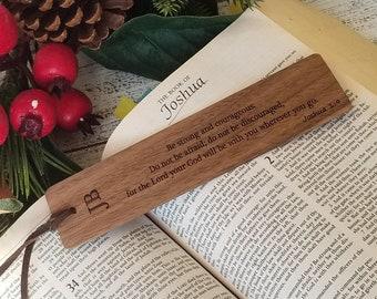 Custom Veteran's Gift,  Engraved Wooden Bookmark,  GIFT BOXED
