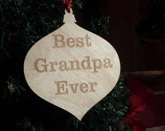 Christmas Gifts For Grandparents,Engraved Wooden Globe