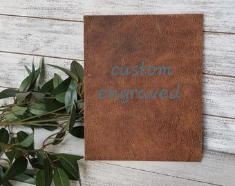 Leather Engraved Gifts