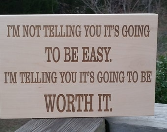Wedding Gift  Husband, 5th Anniversary Gift, Engraved Wood Plaque,  Wooden Sign,