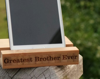 Custom Valentine's Day Gift, Personalized Phone Holder, GIFT WRAPPED