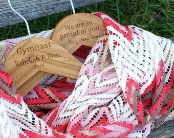 Gift For Daughter Gymnast, Personalized Hanger