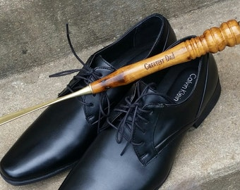 Gift For Grandpa, Extra Long Shoehorn Personalized