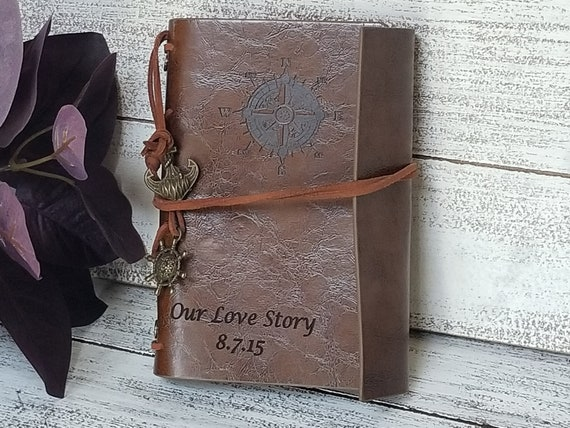 Gift For 3rd Wedding Anniversary: 3rd Wedding Anniversary Gift For Wife Engrave Journal