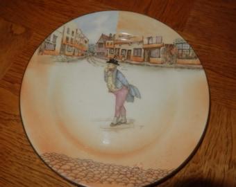 ENGLAND ROYAL DOULTON Mr. Pickwick Plate