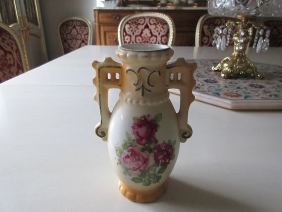 Czechoslovakia Vase Etsy