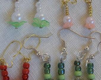 Dangle Earrings - 2 Dollars Each