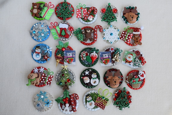 Backpack Clips and Retractable Badge Reel Holders Key Chains Refrigerator Magnets Brooches Thanksgiving and Fall 3 Dimensional Pins