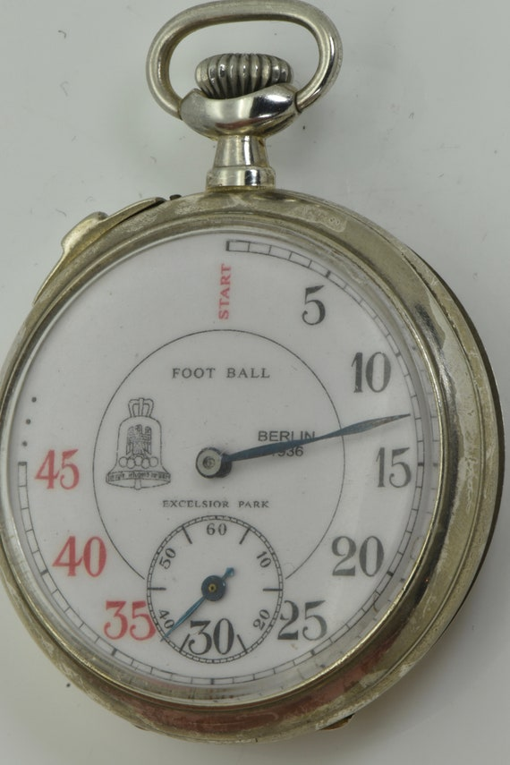 1936 Olympic Games Football Referee s pocket watch with a  ed3495fc02