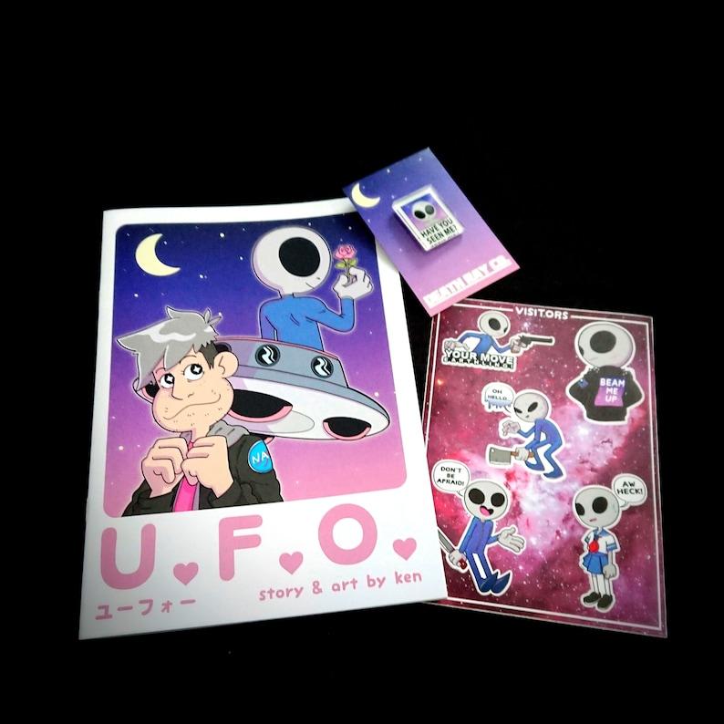 U.F.O. Comic Bundle  Cute Yami Kawaii Pastels Pastel image 0
