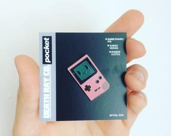 Cute Console Game Boy Enamel Pin