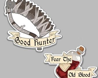 Hunter Vinyl Sticker Set