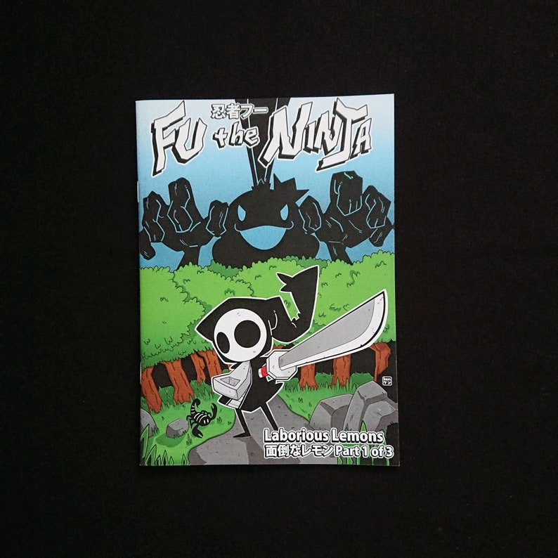 Fu The Ninja: Laborious Lemons Part 1 of 3 Comic image 0