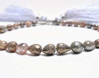 Sillimanite Beads Natural Sillimanite Beads,Sillimanite Smooth Rock Beads,Amazing Quality Sillimanite Row Gemstone Beads,8 Inches Strand