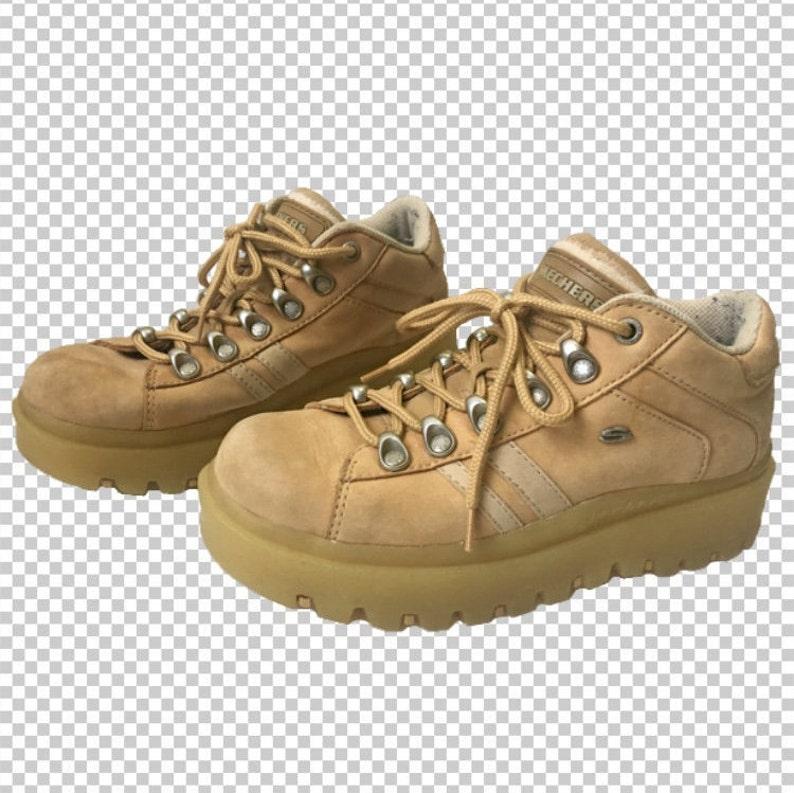 fb713844ba7c Sz 7.5 RARE Skechers 90s Platform Chunky Creeper Sneakers