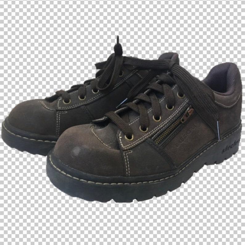 skechers leather sneakers