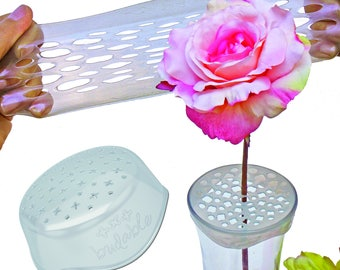 Budable Flower Arranger, 3 pack, Budables, floral supplies, flower frog stem holder, flower frog