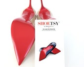 Crystal Clear Slip Resitant Red Bottom Stiletto Sole Protectors Louboutin Sole