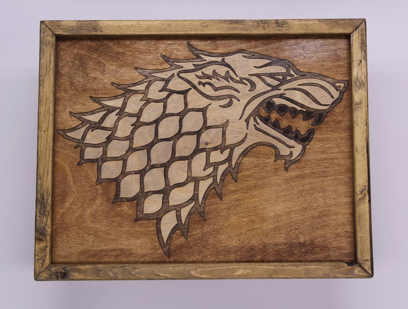 Game of Thrones Stark House Sigil image 0