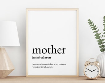 Mother quotes | Etsy