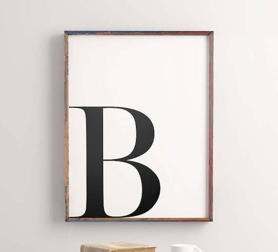 graphic about Printable Letter B known as Letter \