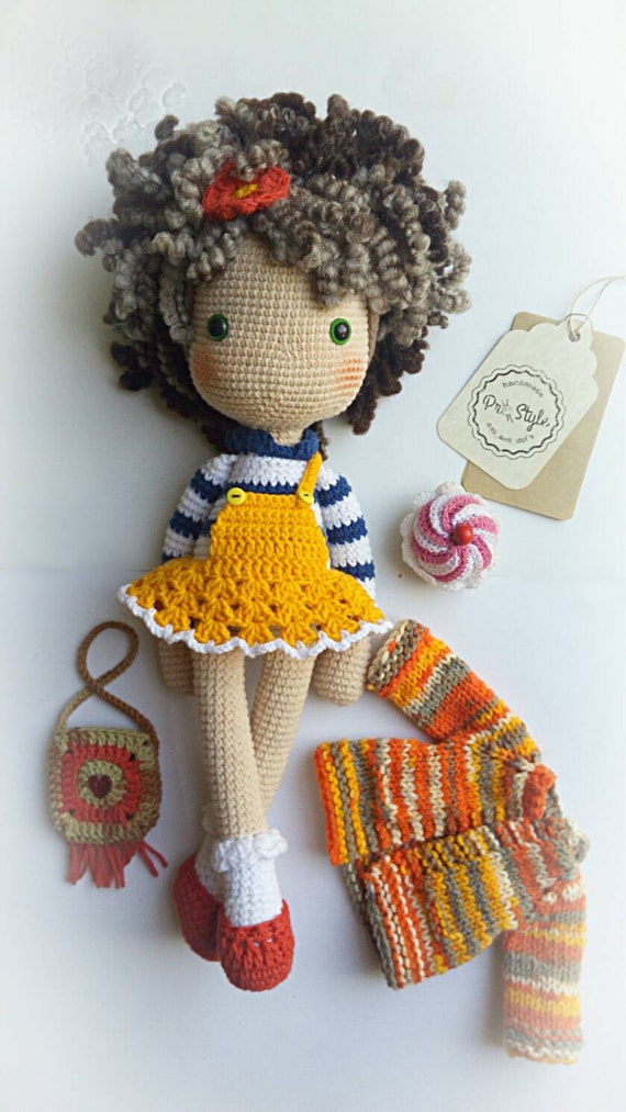 Bambole amigurumi Uncinetto amigurumi bambole bambole | Etsy