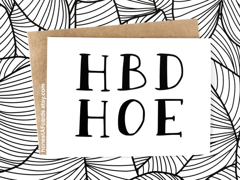 Funny Birthday Card For BFF