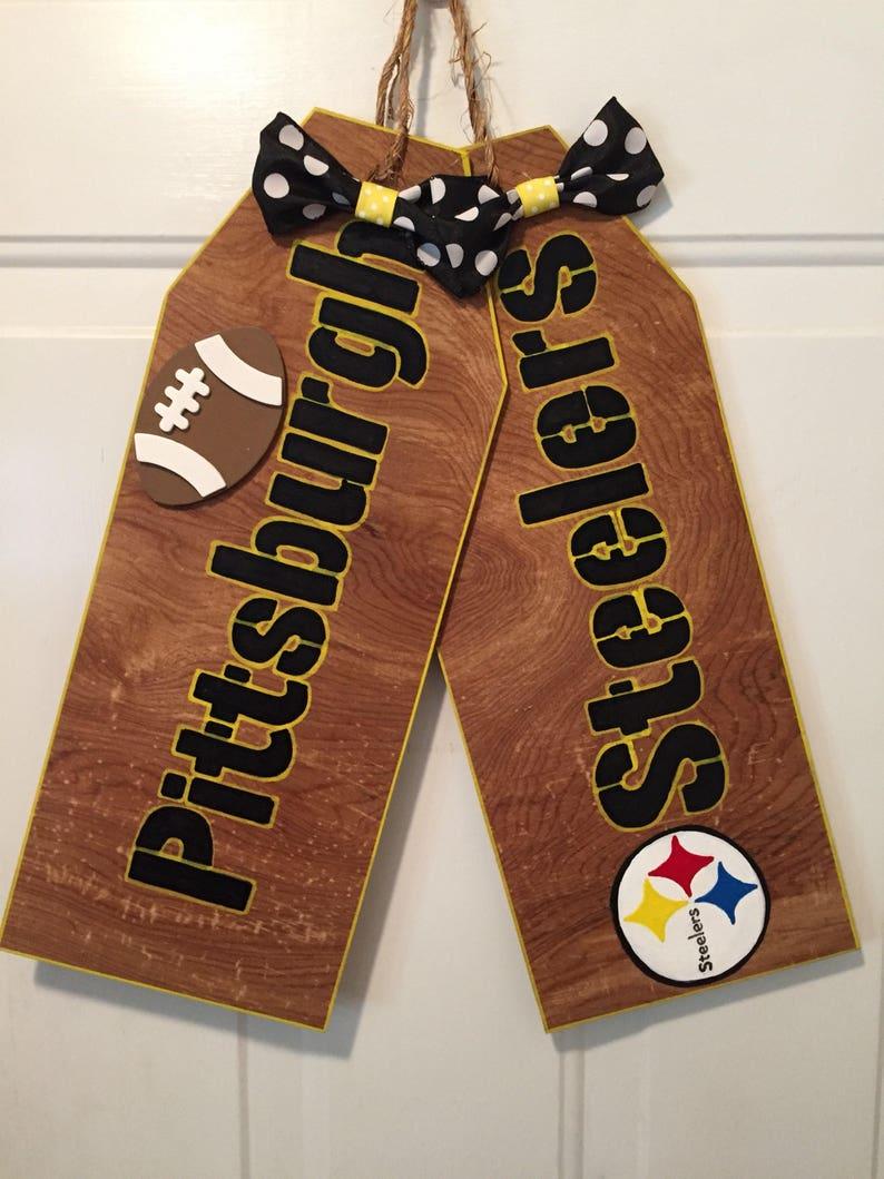 Pittsburgh Steelers sign,Pittsburgh Steelers door hanger ...