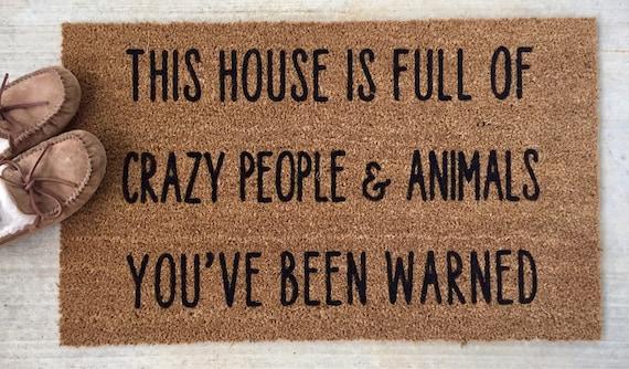 Funny Doormat Funny Door Mat Funny Doormats Funny Door Etsy