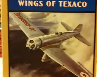 1b00be92ef327 Wings of Texaco   Stock No.223UO Northrop Gamma Airplane Bank By ERTL for Kipp  Brothers Inc.