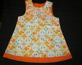 Look at Baby Animal Dress 6-12 months