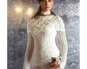 crochet blouse pattern,detailed tutorial,crochet off shoulder top,crochet boat neck pattern,irish crochet,crochet wedding pattern,summer top