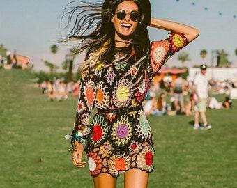 178780979a4f1 crochet boho dress pattern
