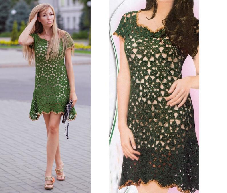 4cf3cb4731e Crochet dress patterndetailed tutorialcrochet summer