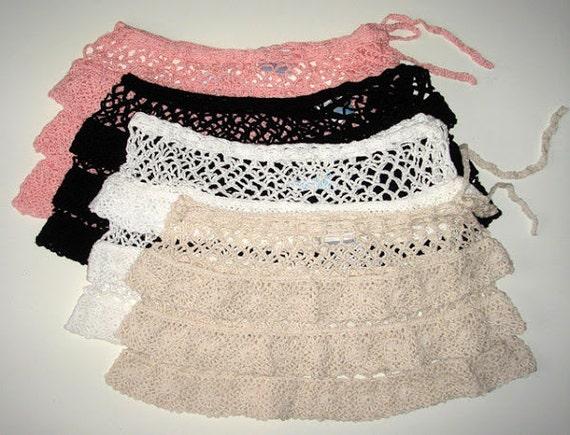 Crochet Skirt Patterndetailed Tutorialcrochet Beach Skirtcrochet