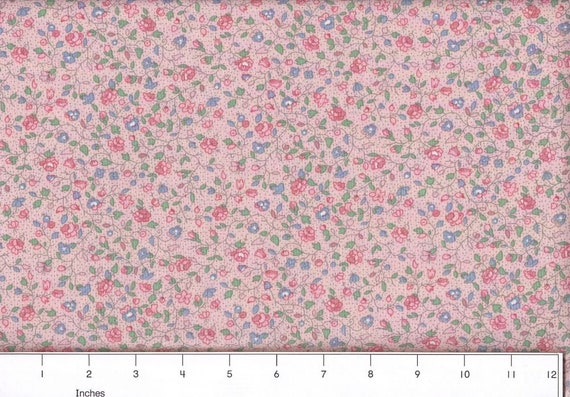Calico Quilting Fabric/ New Pink / New Purple/ Blues