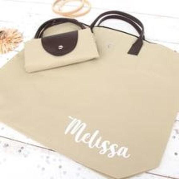 Foldable Shopping Bag -  Customizable