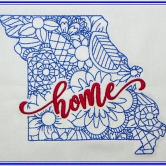 Home State Bean Stitch Zen