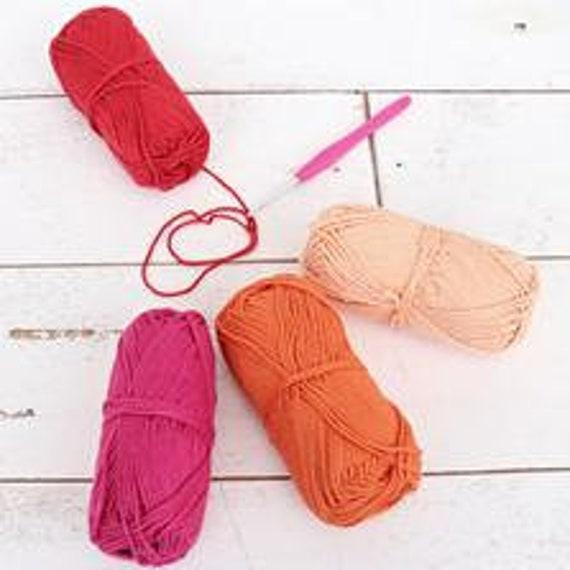 Crochet 100% Pure Cotton Yarn Set