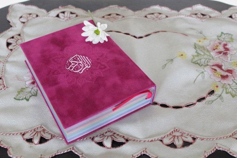 Rainbow Quran Ramadan Gift Multiple Cover Color Choices Etsy