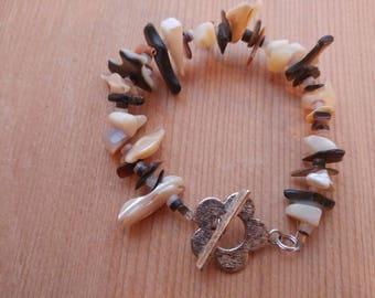 Shell Bracelet, Shell Chip Bracelet, Nautical Bracelet, Ocean Bracelet, Beach Bracelet, Mermaid Bracelet, Seashell Bracelet, Bracelet