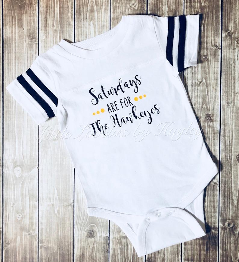 a08379010 Saturdays Are For The Hawkeyes Baby Bodysuit Iowa Hawkeyes | Etsy
